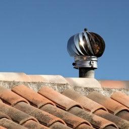 Ventilation mcanique : extracteur olien de toiture