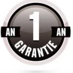 logo garantie noir